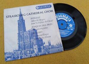 "Berlioz/Mozart "" Strasbourg Cathedral Chorale "" Super GB Rare en Relief' EP"