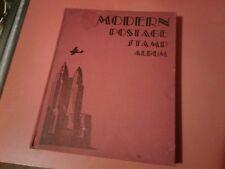 Modern Postage Stamp Album Folder Book 1935 (bc41)