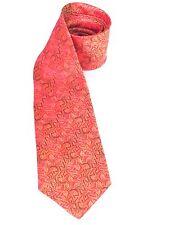M C ESCHER' S SALAMANDER Design Museum Art Inspired Beautiful Silk TIE Red