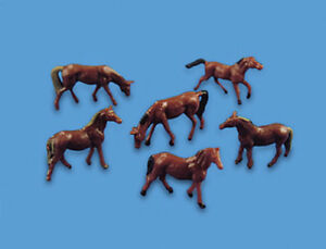 Horses - N gauge Animals - Model Scene 5178 - -