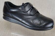 Women's SAS ME TOO Black Comfort Diabetic Walking Shoes Sz US 12 W made in USA