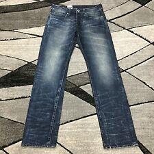 New G-Star Raw Attacc Slim Straight Denim Jeans Mens 30 x 32 Dark Aged Blue