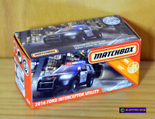 Matchbox '16 Ford Interceptor Police [California Highway Patrol]-New [E-808]