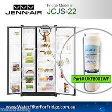 JS2628HEHB JENNAIR FRIDGE REPLACEMENT UKF8001AXX WF50 AQUA BLUE H20 WATER FILTER