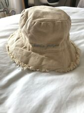 zara kids girls Frayed Summer Bucket Hat Iconic Person Brand New Without Tags