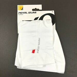 Pearl Izumi Sun Knees UPF 50+ Reflective White Size XL