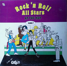 ROCK 'N ROLL ALL STARS - AT THE HOP / LIVE AT GOOFY'S - BXI LABEL -  SEALED LP
