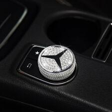 New Multimedia Knob Cover Decor Rhinestone Cover for Mercedes Benz
