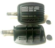 """BRAND NEW NOS 3-1/4 """" EXCEL vintage Bike Bicycle Pedals Flat & grooves No Cleats"""