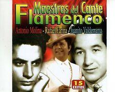 CD ANTONIO MOLINA rafael farina JUANITO VALDERRAMAflamcencoMINT  (A3176)
