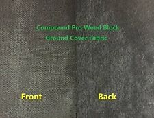 Agfabric Pro 4ounce Needle-Punched compound weed barrier fabric, 4ft x 100ft