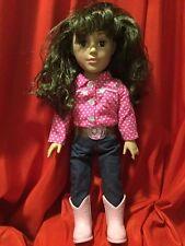 """2013  MADAME  ALEXANDER  18""""  Doll ...  Brown  Hair  &  Brown  Eyes"""