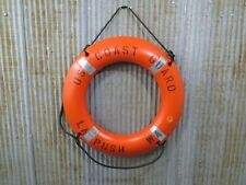 30 inch US COAST GUARD Life Ring Plastic Preserver -(LR706)