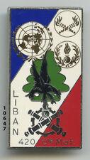 Insigne matèriel,  Cie. Mat. / 420 DSL. - 3, 4 & 5 Mandats