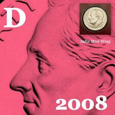 2008 D Roosevelt Dime ~ Satin Mint Strike ~ Original Mint Wrapper