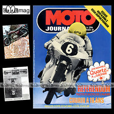 MOTO JOURNAL N°294 YAMAHA XS 750 SUZUKI GS JACQUES BOLLE KAWASAKI Z400 BMW 1976