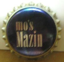MO'S MAZIN, Purple & Silver Beer CROWN, Bottle CAP, Evansville, INDIANA CLOSED
