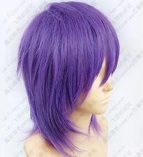 299 Kuroko's Basketball Murasakibara Atsushi Purple mix Cosplay Short Wig