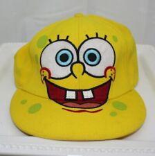 Spongebob Square ~ Fitted Cap Size Small ~  Nickelodeon ~ Acrylic / Wool Blend