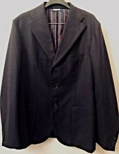 JUNYA WATANABE Commes des Garcons MAN navy wool knit Mens JACKET LARGE