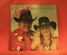KENDALLS - MOVIN' TRAIN - 1983 EX - VINYL LP *BUY 1 LP GET 1 LP FREE* V