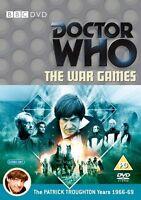 Doctor Who - The War Juegos DVD Patrick Troughton y Frazer Hines Dr Who BBC