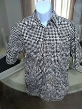 Golf Player Pattern Mens Shirt Large