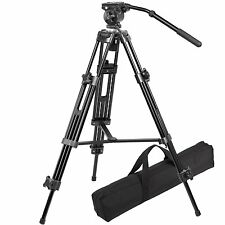 Ravelli AVTP Professional 75 mm Video Camera Tripod with Fluid Drag Head New
