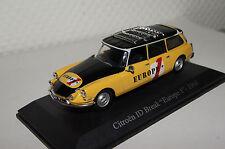 """CITROEN ID break """"Europe 1"""" 1968 jaune-noir 1:43 uh NEUF & OVP 5097u"""