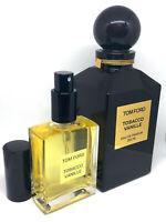 Tobacco Vanille - TOM FORD -  Eau de Parfum - 50ml - HUGE decant - 100% GENUINE