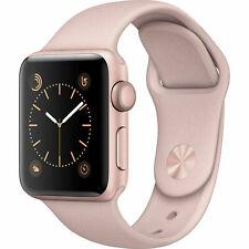 Reloj de Apple serie 3 38mm GPS-banda De Oro Blanco Sport