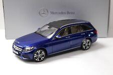 1:18 Norev Mercedes C-Klasse T-Modell blue DEALER NEW bei PREMIUM-MODELCARS