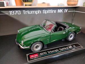 Rare 1/18 Sunstar Triumph spitfire MK IV 1970