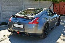 Diffusor ansatz Nissan 370Z Heck Ansatz hinten DTM Splitter Nismo GT GTR ABS NEU