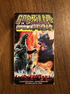 RARE OOP UNRATED GODZILLA VS. SPACE GODZILLA VHS VIDEO TAPE! TOHO KAIJU MONSTERS