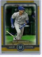 Whit Merrifield 2019 Topps Museum 5x7 Gold #45 /10 Royals