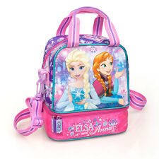 Disney Frozen Premium Pink Insulated Cooler Lunch Bag Girls School Anna Elsa