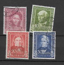 1949 USED Bundesrepublik, Michel 117-120