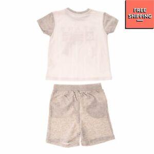 MIRTILLO T-Shirt & Shorts Set Size 24M / 92CM Melange Effect Short Sleeve
