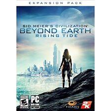 Sid Meier's Civilization: Beyond Earth Rising Tide PC Software Brand New