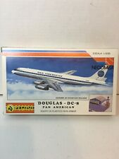 Pegaso Necomisa Douglas DC-8 Pan American 1:250 Sealed Parts Bag No Diorama