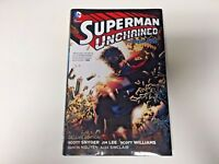 Superman Unchained Deluxe Edition TPB by Scott Snyder - Hardcover - Excellent