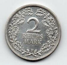 Germany - Duitsland - 2 Mark 1925 F