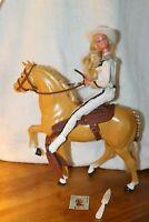 1980 Western Barbie horse, Dallas...Barbie INCLUDED
