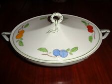 W H Grindley & Co Lidded Tureen Fruit Pattern Circa 1930's