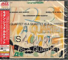 THE MODERN JAZZ QUARTET-A QUARTET IS A QUARTET IS A QUARTET-JAPAN CD B50