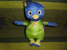 "Backyardigans blue penguin Pablo bath water toy stuffed doll Fisher Price 9"""