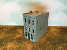 20th Century 3 Story Art Deco Building - Z Scale 1:220 - 3D Printed Model Usa