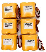 6 Pack! BR-CCF2TH (A98l-0001-0902) 6V 5000mAh Backup Battery for Fanuc controls