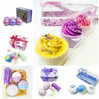 Bath Bomb Luxury cosmetics Handmade Natural Soap Christmas Ladies Mum Gift Set
